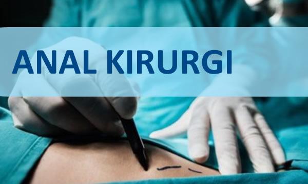 anal kirurgi